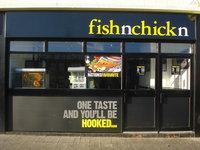 Fisksölustaður Fish'n'chick'n.